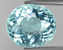 8.46 Cts Aquamarine Awesome Luster and Cut ~ Skardu AQ20
