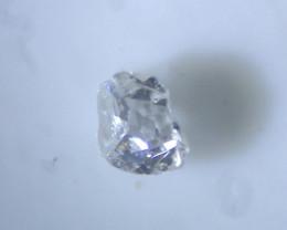 0.01 grey old mine cut diamond