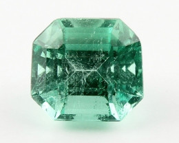 0.65ct Natural Colombian Emerald Loose Gemstone No Reserve Auction