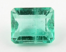 0.52ct Natural Colombian Emerald Loose Gemstone No Reserve Auction
