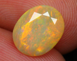 Opal 4.14Ct Ethiopian Faceted Welo Opal A2110