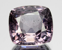 2.83 Cts Natural Purple Pink Spinel Cushion Burma