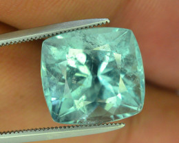 Amazing 10.5 ct Paraiba Color Afghan Tourmaline