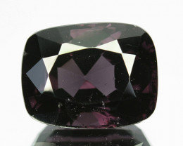 3.57 Cts Natural Purple Blue Spinel Cushion Srilanka
