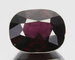 2.94 Cts Natural Purple Blue Spinel Cushion Srilanka