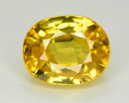 3.25 Ct Gorgeous Color Natural Yellow Zircon