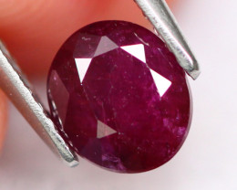 Blood Ruby 4.88Ct Natural Burmese Blood Red Color Ruby E2112