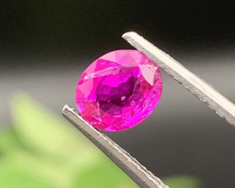 GRA Burma Ruby Certified 1.75 Carats Unheated/Untreated Top Quality
