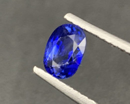 Certified Sri Lankan Natural Sapphire 1.76 Carats Top Quality Cornflower Co