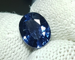 UNTREATED 1.46 CTS NATURAL BEAUTIFUL OVAL MIX BLUE SPINEL FROM BURMA