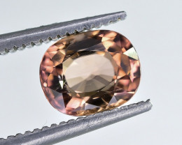 1.25 Crt Natural Tourmaline Faceted Gemstone.( AB 02)