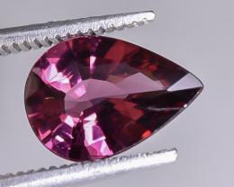 2.05 Crt Natural Rhodolite Garnet Faceted Gemstone.( AB 02)