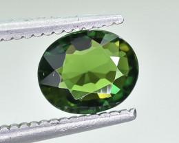 0.63 Crt Natural Chrome Tourmaline Faceted Gemstone.( AB 02)
