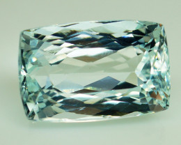 Unheated - 17.69 ct  Natural Blue Aquamarine – IGE Certificate