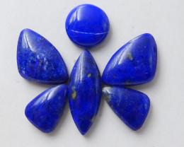 33cts Blue Lapis Lazuli Cabochons | Natural Lapis Lazuli Cabochon D859