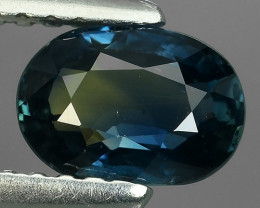 1.10 CTS BLUE SAPPHIRE NO HEATED FACET GENUINE OVAL MADAGASCAR