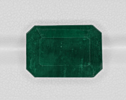 Emerald, 22.51ct - Mined in Zambia | Certified by GRS