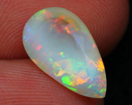 Opal 1.93Ct Ethiopian Faceted Welo Opal A2201