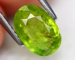 Grossular 2.12Ct Natural Green Grossular Garnet B2210