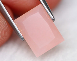Peruvian Opal 1.85Ct Natural Peruvian Pink Faceted Color EM10