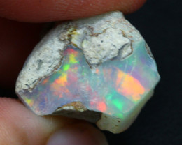 12.45Ct Multi Color Ethiopian Welo Rough 22A01