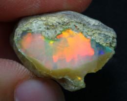 14.30Ct Multi Color Ethiopian Welo Rough 22A11