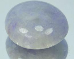 5.88 Cts Natural Untreated Lavender Jade Cabochon Burmese