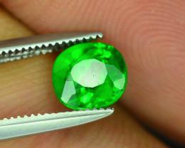 AAA Grade 1.10 ct Forest Green Tsavorite Garnet
