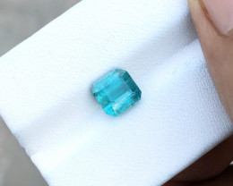 2 Ct Natural Blueish Transparent Tourmaline Gemstone