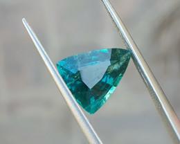 2.35 Ct Natural Blueish Transparent Tourmaline Gemstone