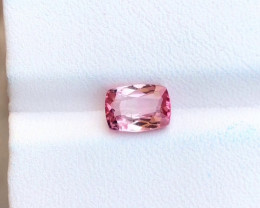 1.60 Ct Natural Pinkish Transparent Rubellite Tourmaline Gemstone