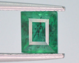 Top Quility 1.05 ct Natural Vivid Green Color Emerald~Swat ~ G AS
