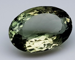 7.85Crt Green Prasolite  Natural Gemstones JI33