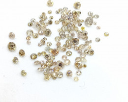 2.32ct Fancy  Color Diamond Parcel , 100% Natural Untreated
