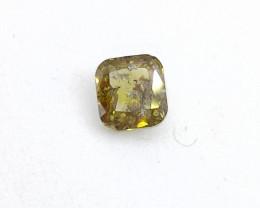 0.505ct Fancy  brownish Green  Diamond , 100% Natural Untreate