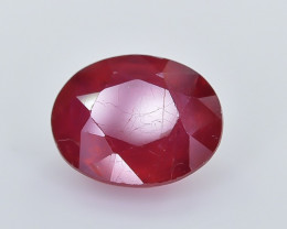 2.69 Crt Composite Ruby Faceted Gemstone (R38)