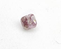 0.19ct Fancy Deep Purple Pink Diamond , 100% Natural Untreate