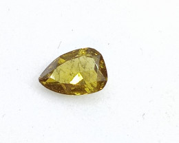 0.23ct  Fancy  Brown Green Diamond , 100% Natural Untreated