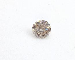 0.12ct L-SI Diamond , 100% Natural Untreated