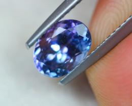 1.31Ct Violet Blue Tanzanite Oval Cut Lot B970