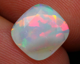 Opal 1.45Ct Ethiopian Faceted Welo Opal A2305