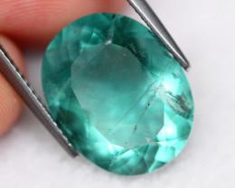 Fluorite 10.20Ct Natural Green Color Fluorite A2309