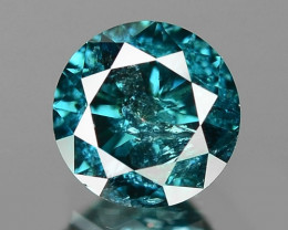 0.16 Cts Fancy Vivid Blue Color Natural Loose Diamond