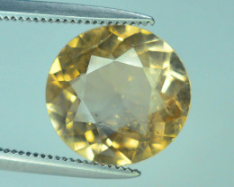 Top Quality 3.65 ct Champagne Color Topaz Skardu Pakistan
