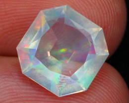 Welo Opal 2.54Ct Natural Ethiopian Faceted Welo Opal EM23