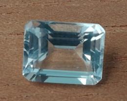 3.3ct Topas vvs emerald cut