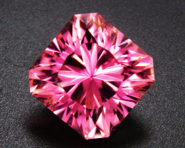 Pink Tourmaline 4.20 ct Custom Cut Tourmaline Gemstone