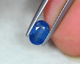 1.09Ct Natural Blue Sapphire Oval Cut Lot LZB583