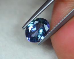 1.41Ct Greenish Violet Blue Tanzanite Oval Cut Lot LZ3242