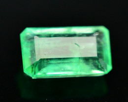 Amazing Color 0.60 Ct Natural Panjshir Emerald. RA
